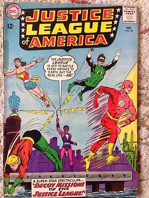 Justice League of America (DC, 1963) #24 Fox G/VG