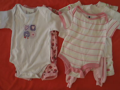 BABY GIRL : Size 00 - 3months : Assorted ; Gap, Pumpkin Patch + others