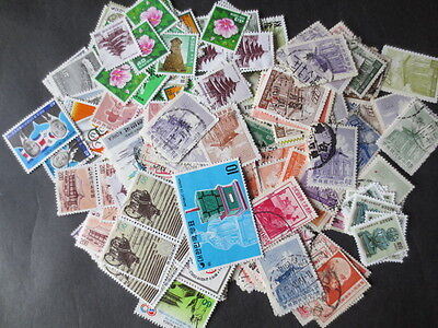 (*ta13) CHINA/KOREA EXTENSIVE USED STAMPS ACCUMULATION, EARLY MID, CV!