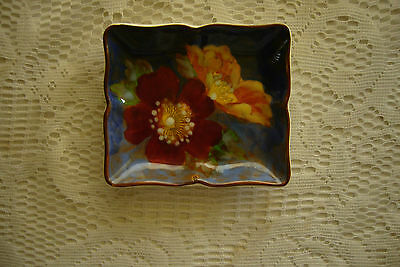 royal doulton series ware wild roses pin dish,tray D 6227 collectable