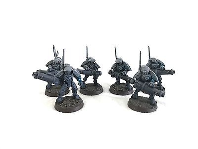 Warhammer 40k Tau Stealth Suits Painted