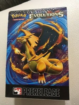 Pokemon TCG  XY Evolutions Prerelease Promo Box Kit Factory Sealed  MINT