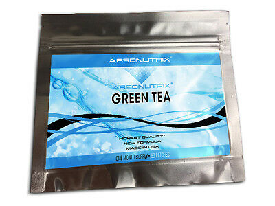 Absonutrix Quality Green Tea Slim Patch 30 Daily Patches Powerful Formula Trial!