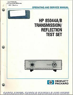 HP Manual 85044A-B TRANSMISSION REFLECTION TEST SET