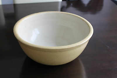 Vintage mixing bowl large pottery old AAA