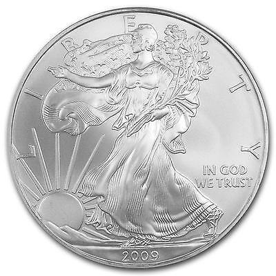 Roll of 20 - 2009 American Silver Eagle Coins Gem Quality