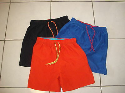3 Boys Shorts - size 16 (red, blue & black)