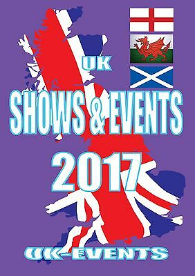 2017 Shows Events Guide Book Burger Van Hot Dog Ice Cream Catering Trailer !!