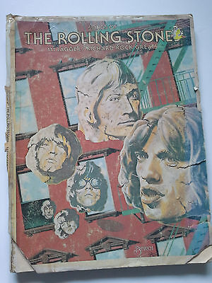 Songs of the Rolling Stones Music & Lyrics for 111 songs by Jagger/Richard 1975