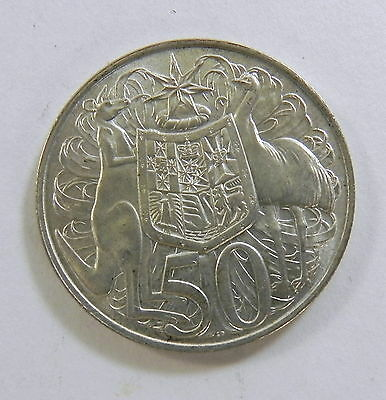 1966 50c FIFTY CENTS ROUND UNCIRCULATED Silver Coin