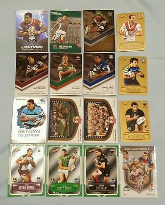 2012-2014 NRL Select ESP Traders Insert Card Lot x 16