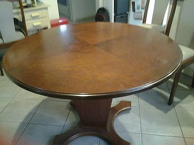 Round Antique Dining Table
