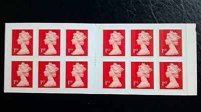 M13L 1st Class Red Machin Forgery booklet of 12 MTIL WITH Y