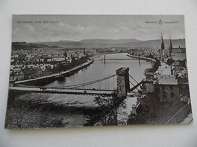 Inverness - Inverness from the Castle, Inverness, Scotland - Postcard