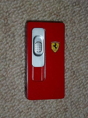 FERRARI Official Product USB Electronic Rechargeable Flameless Cigarette Lighter