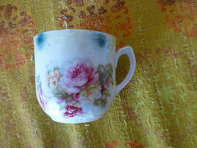 Antique/Vintage/Retro Quaint Floral Dainty Cup for decoration.