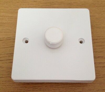 1 Gang 2 Way Push ON/OFF Dimmer Switch 1x250W PHASELINER