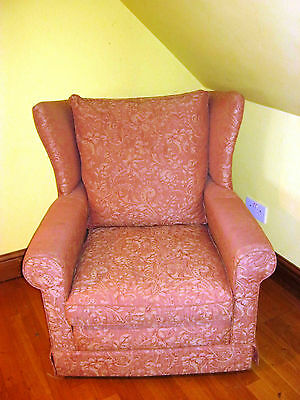 Period George Iii Style Wing Back Chair