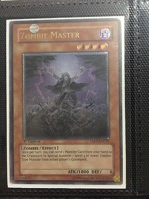 Zombie Master - Ultimate Rare Yugioh Card, 1st Edition