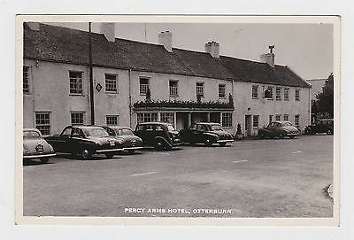 Nice Old Real Photo Card Of The Percy Arms Hotel Otterburn Newcastle Around 1950