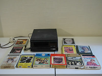 BSR McDonald 8 Track Stereo  - With 11x tapes - Spares Repair