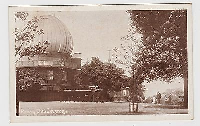 Super Old Card Of The Royal Observatory Greenwich About 1910