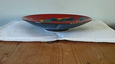 Poole Pottery Bowl/charger 'odyssey'.boxed