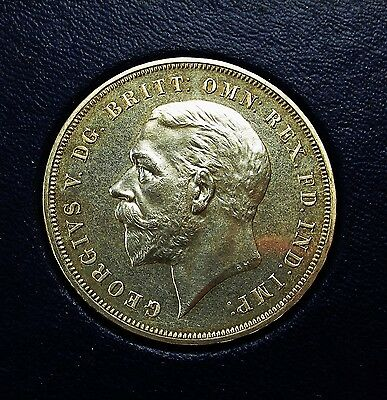 King George V  Crown  From The Royal Mint In Original Red Card Case