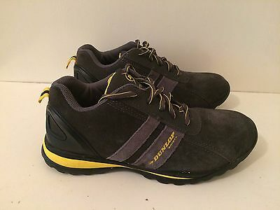 Dunlop Indiana Mens Safety Boots Charcoal Size UK 6 (EU 39)
