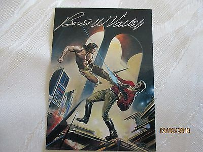 Complete Cards Boris Vallejo 4 With Autograph & Medallion Card