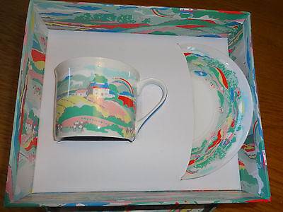 Cath Kidston Fine China Beacon View Cup And Saucer New In Box