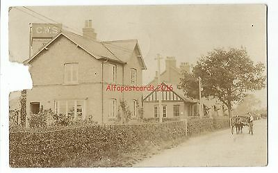 Shrops Roden nr Telford Co-op Wholesale Society Real Photo Vintage Postcard 6.9