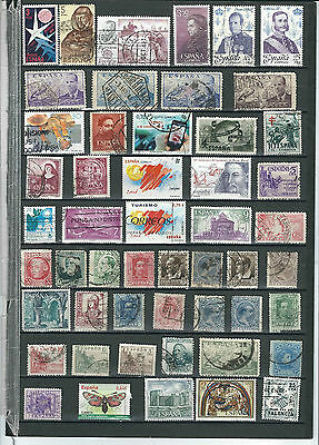 Spain Stamp Collection.