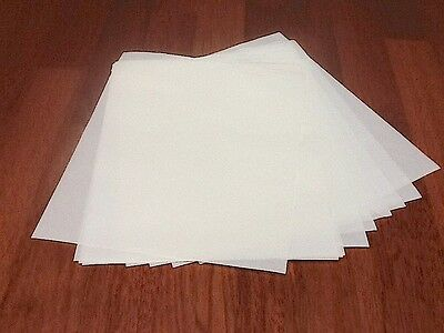 20 x Waxed Paper Deli Sheets/CANDLE, SOAP WRAP A4 size 60GSM