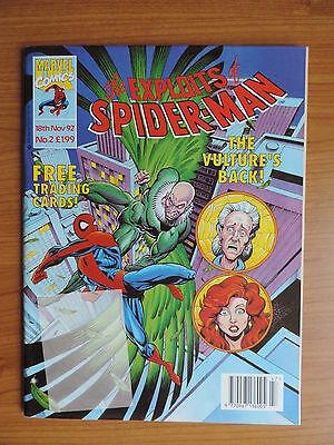 The Exploits Of Spider-Man # 2 Uk Marvel- Reprint Of Amazing Spider-Man # 1 !!