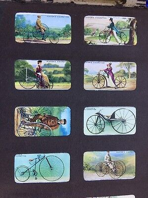 John Player  Cigarette cards Cycling  Full Set of 50