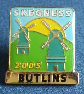Butlins Skegness 2005 Butterfly Clasp Badge. No makers name