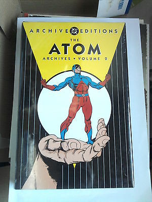 Hardcover  THE ATOM  2 (DC Archive Editions ) 200 pages of silver age comics