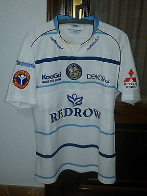 OFFICIAL CELTIC CRUSADERS player issue polo Tshirt used in SUPER LEAGUE 2009-10