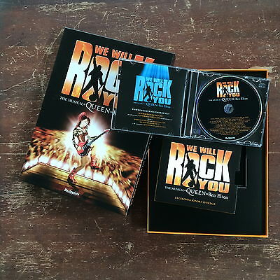 QUEEN cofanetto CD originale WE WILL ROCK YOU The Musical 2011 (BA.208)