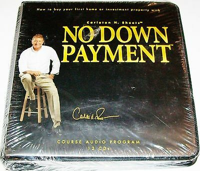 NEW SEALED CARLTON SHEETS NO MONEY DOWN REAL ESTATE AUDIO PROGRAM 12 CDs