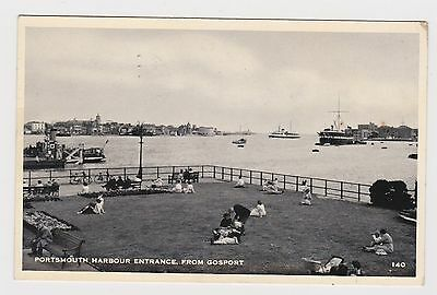 Super Old Card Of Portsmouth Harbour From Gosport 1957 Animated