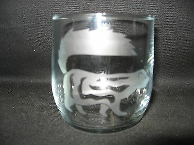 New Etched Spotted Skunk Old-Fashioned Rocks Glass Tumbler