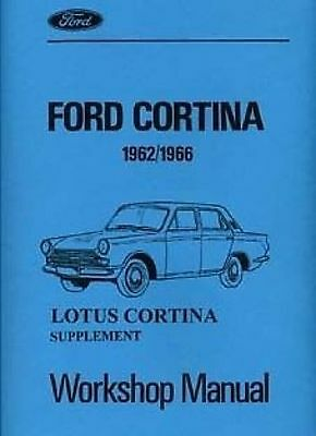 FORD Lotus Cortina Tech. Spec 1962-1966  Technical data Catalogue Book Manual