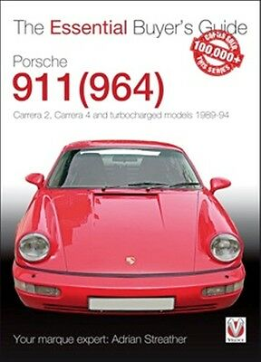 Porsche 911 964 The Essential Buyers Guide Book paper car