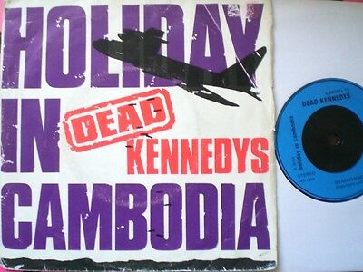 Punk - Dead Kennedys - Holiday In Cambodia - Picture Cover