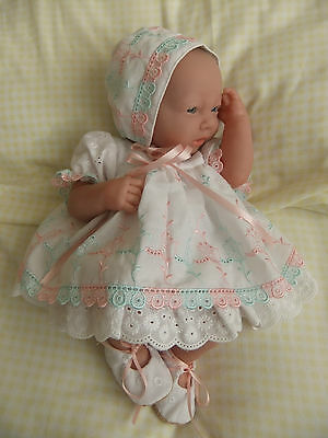 "Handmade baby dolls clothes fit 14""-15"" reborn / preemie /  berenguer"