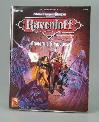 Advanced Dungeons and Dragons AD&D 2nd Ed. From the shadows Ravenloft TSR
