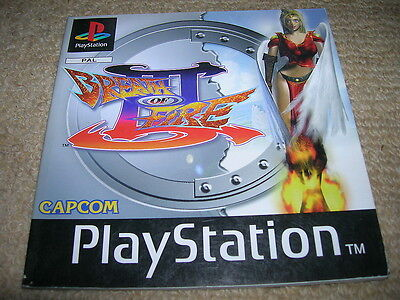 BREATH OF FIRE III – PS1 PAL Instruction Manual Only
