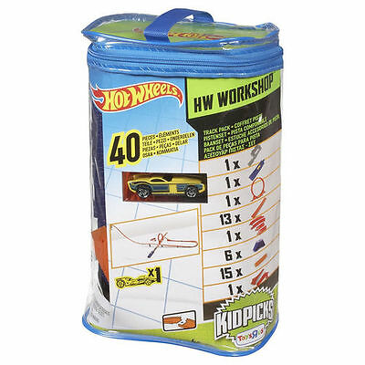 Hot Wheels Track Pack Builder 40 pieces car included